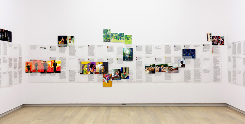 Installation view of Faggots and the Dance Sex Life, SAW Gallery, Ottawa, 2019